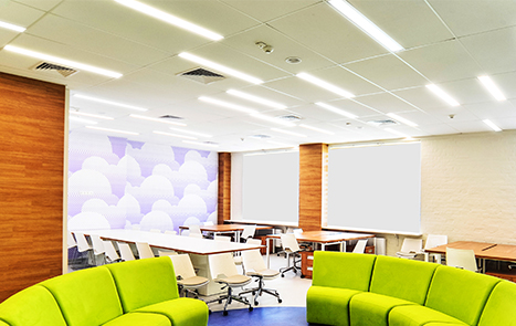 led recessed linear light