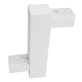 Z pattern joiner for led linear pendant light fixtures