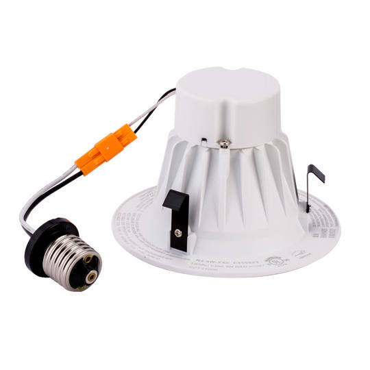 4inch LED Residential Downlight, Available in 120V Triac Dimming or 100-277V Input