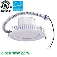 6inch 18W 100-277V  Economic Commercial LED Downlight
