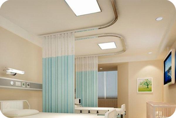 OKT LED Flat Panel Fixture in hospital room - FL