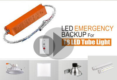 Installation Of LED Emergency Backup For 4FT T8 LED Tube Light