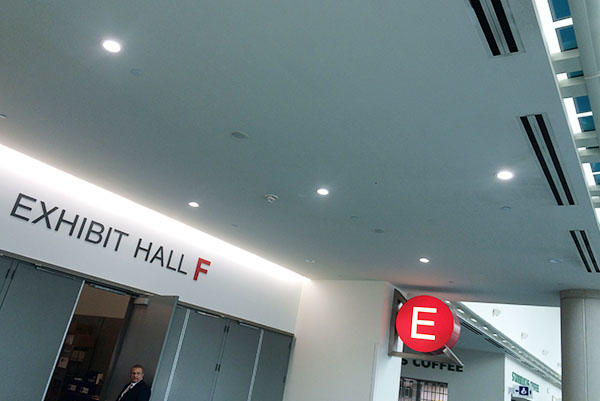 6inch 277V Residential Downlight Installed In International Convention Centre In San Diego