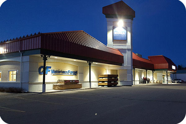 OKT Lighting 10inch 54W Commercial Downlight Installed In The Store In Quebec