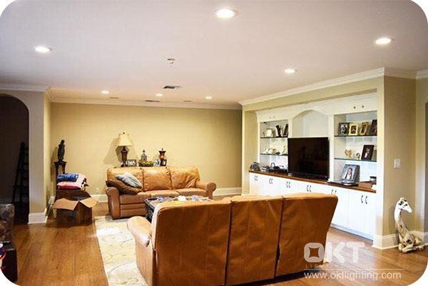 OKT Lighting 6inch Residential Downlight In Louisiana, USA