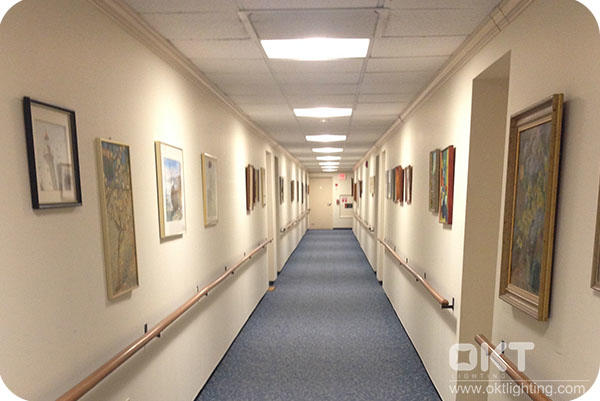 OKT Lighting 500pcs 2x2FT LED Troffer In Hospital In Rochesterr,NY