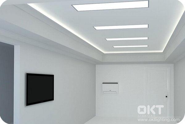 OKT Lighting 63W 2X4FT 5000K Selected Panel Light In Office In New Orleans