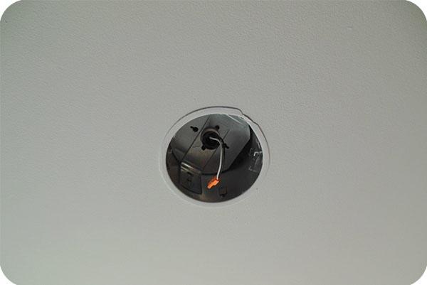 OKT DD-13D180 13W LED Retrofit Downlight In Office In St. Paul.