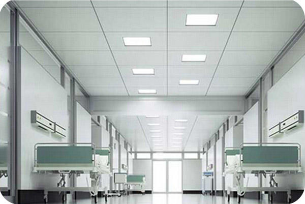 OKT 2x2ft Led Panel Light In Hospital In Canada