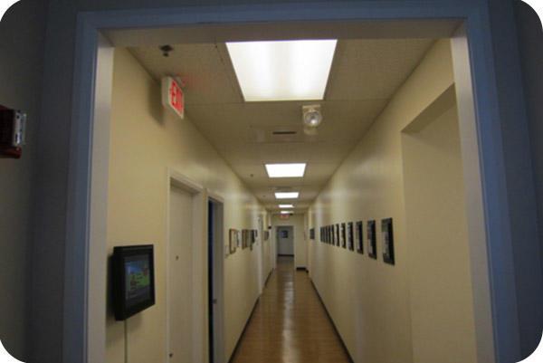 OKT 2x4ft Led Panel Light In Office In Florida In 2014