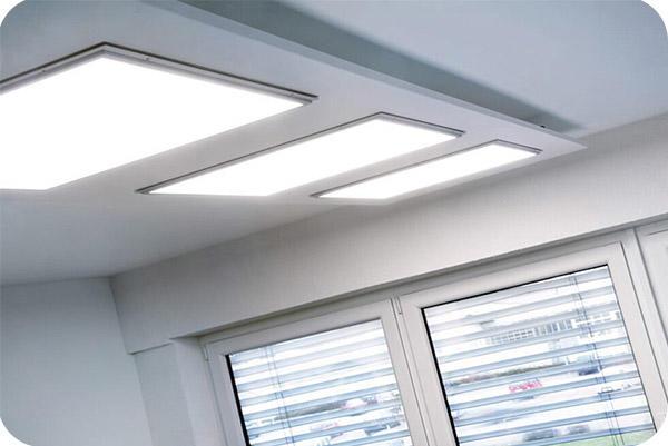 OKT 2x4ft Led Panel Light In Office In GA In 2014