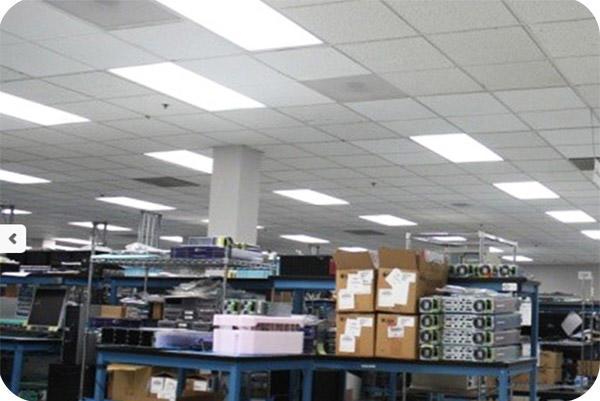 OKT 2X4FT LED Panel Light in Factory - Vancour - 2014