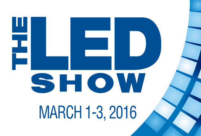 The LED Show in SANTA CLARA,USA-Mar 1-3,2016