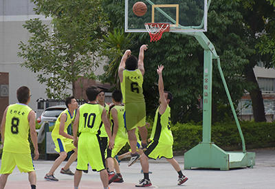 OKT Organized A Basketball Game on July 2th