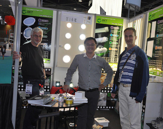 The Lyon Lighting Show in France - June 5-7, 2012