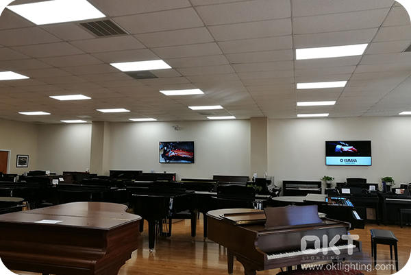 OKT FS 2 x 4 Panel Installed In The Piano Museum In Raleigh NC