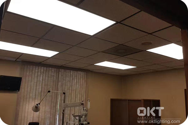 3000K 2x4 Panel Light For Eye Care Center In Greenwood, SC