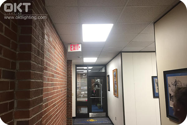 50Watts Dimmable Led Panel Light Installed In Fayetteville State University