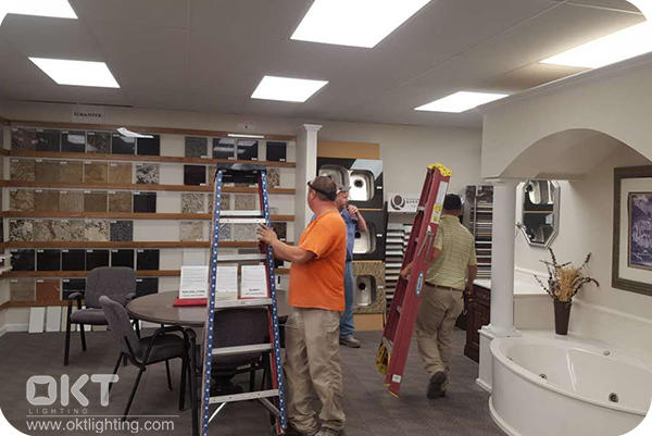 2x4 LED Flat Panel Light for Exibition Room and Office in SC