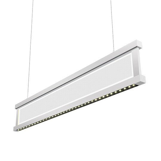 50W 4 feet Vertical LED Linear Pendant Lighting (Lens)