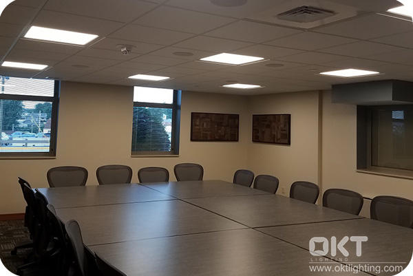 2x2 LED Flat Panel Light for Conference Room