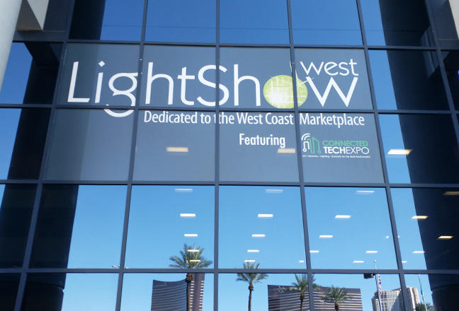 Lightshow West 2018 in Las Vegas