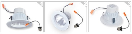 4inch led retrofit led downlight