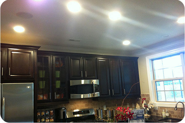 OKT Dimmable LED Residential Downlight in House - North Carolina