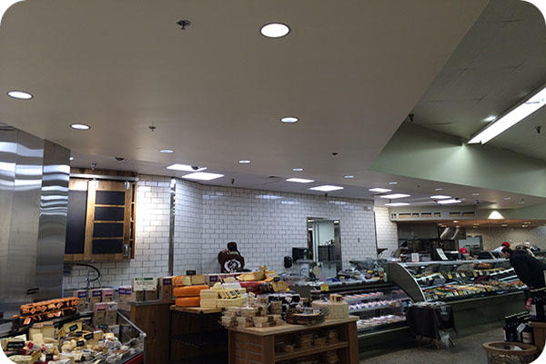 OKT 6Inch Retrofit LED Downlight In Supermarket - Kansas City