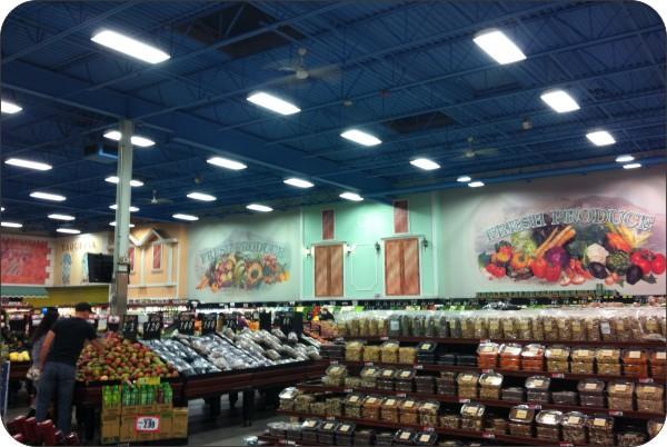 OKT T8 LED Tubes in Surpermarket - Los Angeles