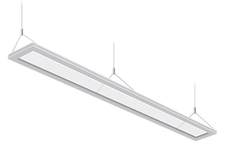 Up/Down suspended linear led luminaire