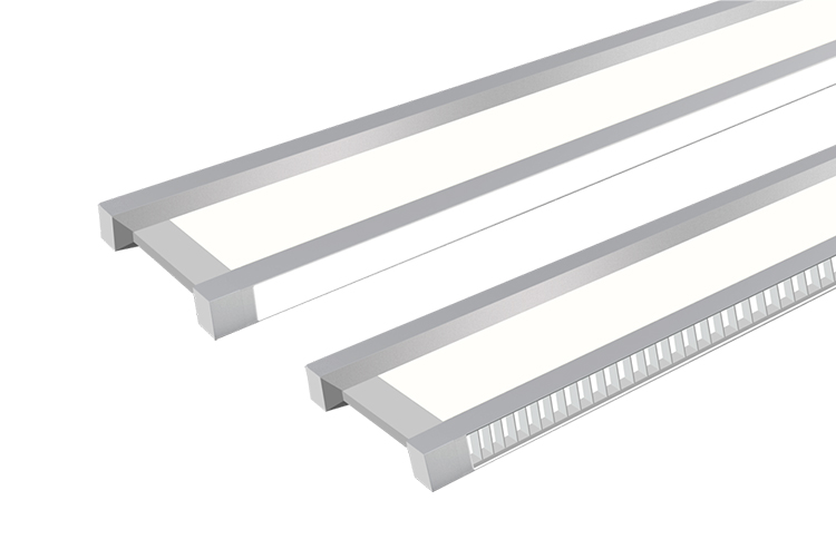 suspended linear led luminaire