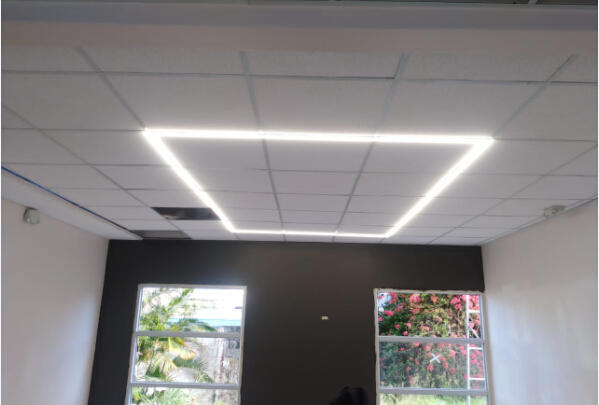 T-grid Linear Lighting for the University Project in Costa Rica
