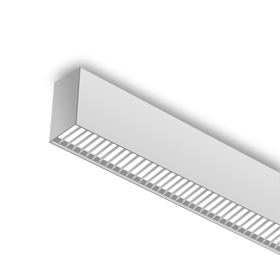surface mounted linear light fixture