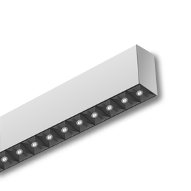 wall mounted linear up down light