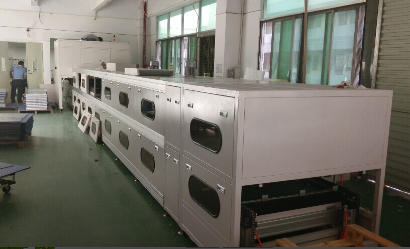 semi-automatic assembly line for LED flat panel1