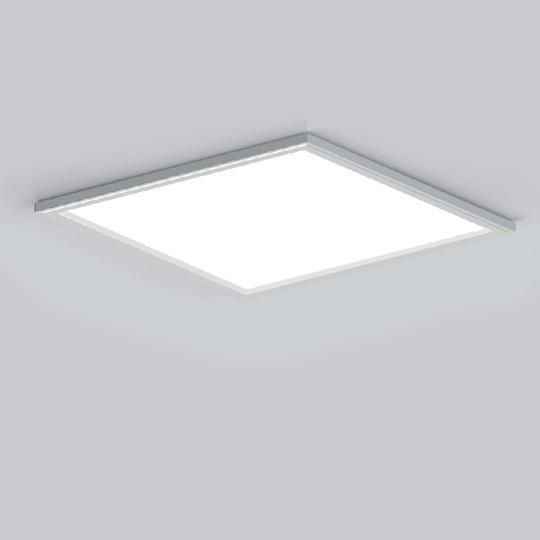OKT AIR FLAT SURFACE MOUNTED PANEL, surface mount led fixtures, 2x2 led panel surface mount,2x2 surface mounted panel LED