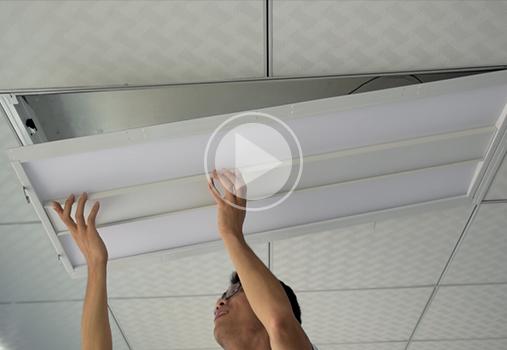 installation Video of led retrofit kit