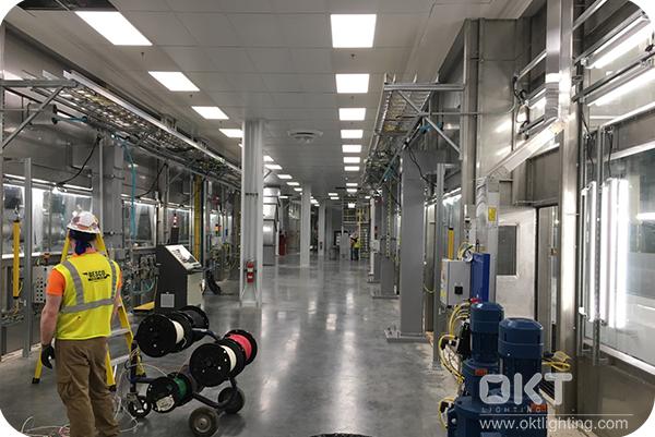 OKT LED FIXTURE FOR WORKSHOP