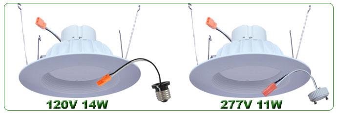 LED Retrofit Downlights