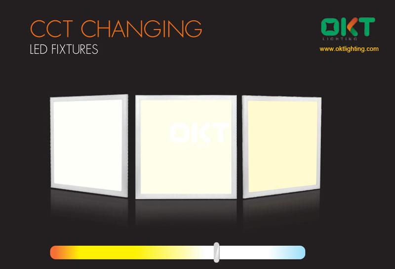 cct changing surface mount led light