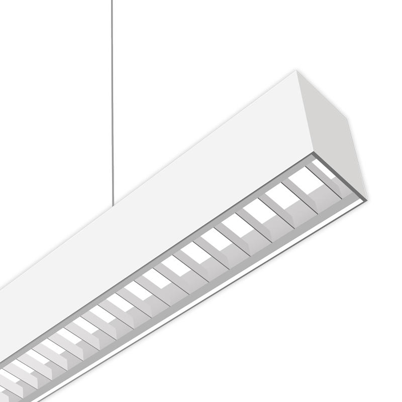 Louver Optics Linear LED Lighting Fixture