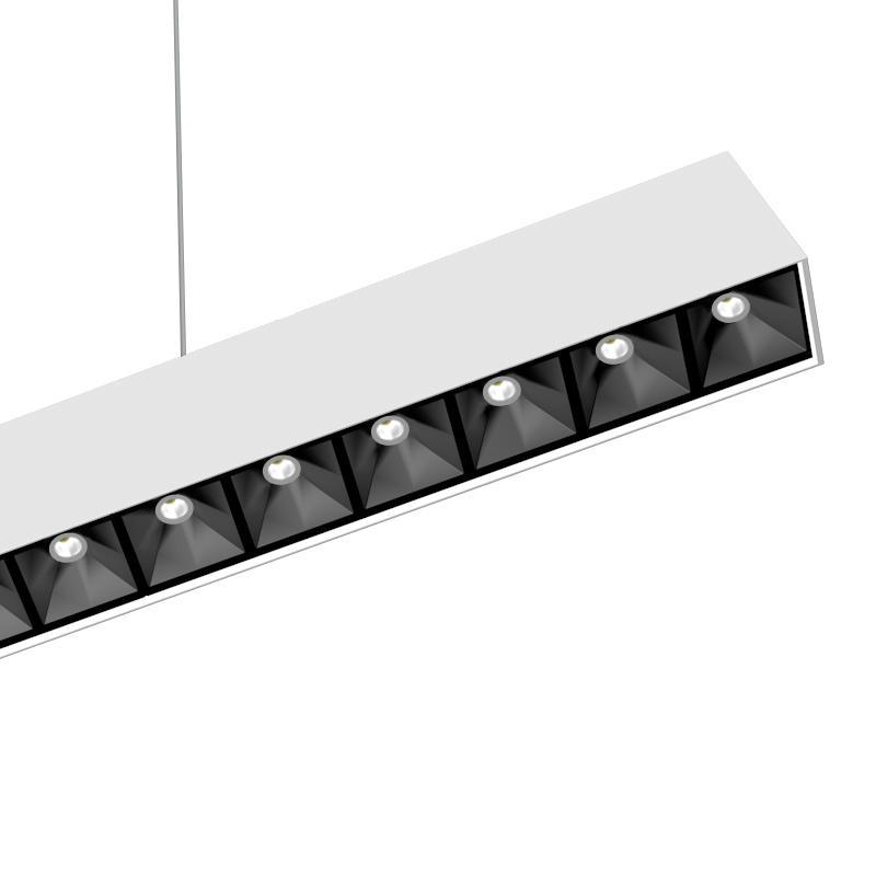 Modular Optics LED Linear Light Fixture (UGR<10)