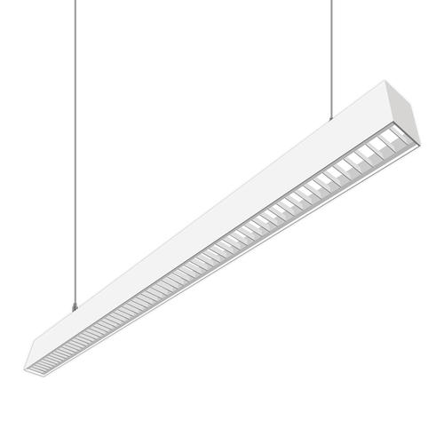 Louver Optics Linear LED Lighting Fixture