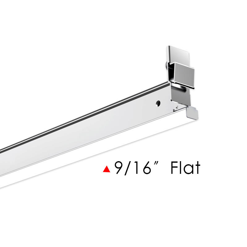 US Patent T-Grid LED Linear Light, Milky Diffusing 9/16