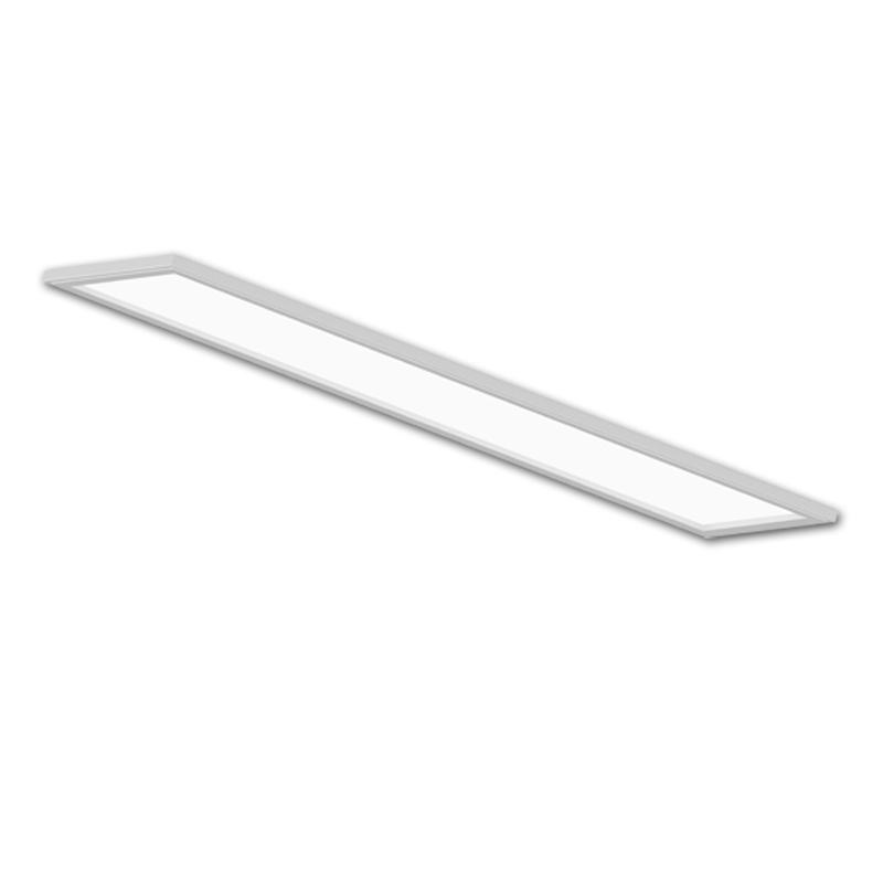 1x4FT LED Flat Panel, Integrated Surface Mounted,Recessed And Suspending Functions