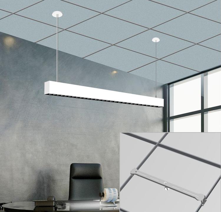 led linear light for suspension ceiling