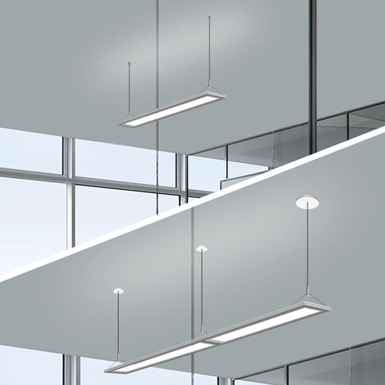4ft linear pendant panel light