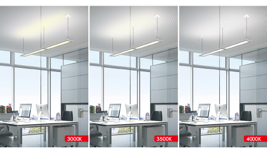 tunable white linear led panel light