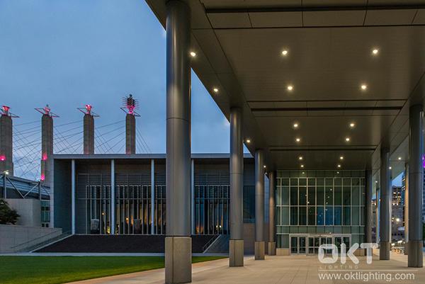 OKT LED Downlights for Bartle Hall